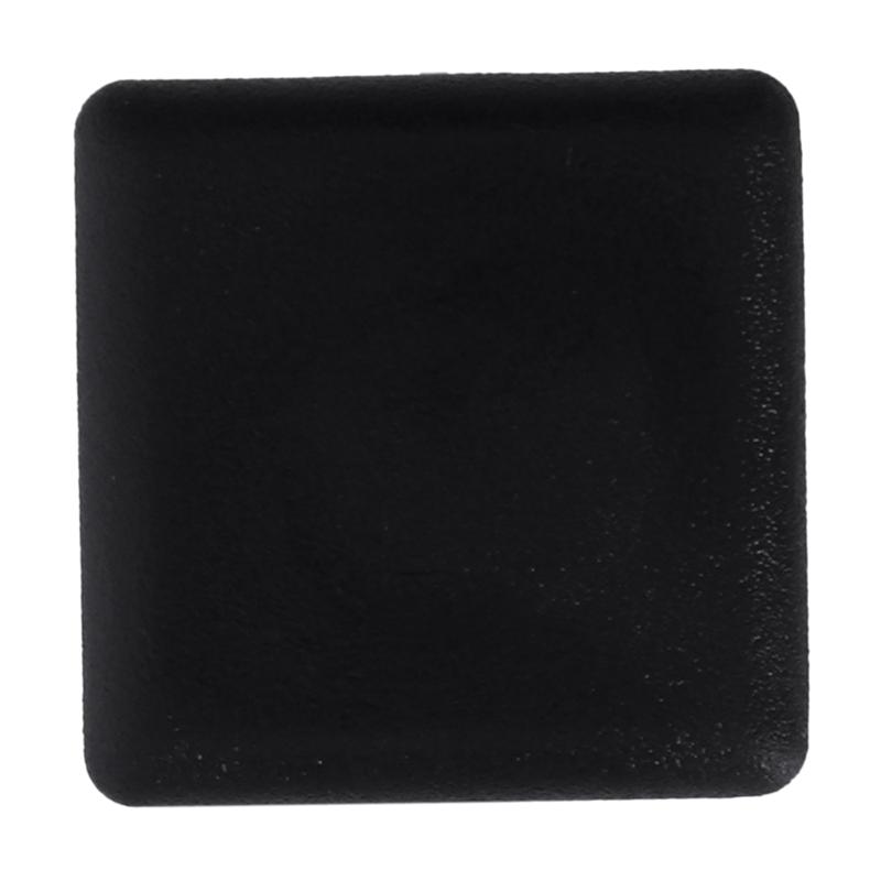 Square-Table-Chair-Leg-Feet-Tube-Pipe-Insert-Cap-30pcs-Black-T1F6 thumbnail 7