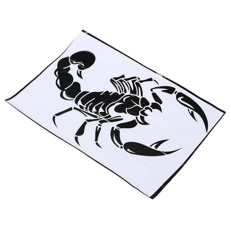 Car-Dekoration-3D-Scorpion-Decal-Sticker-Cooler-Vinyl-Sticker-S6P4 Indexbild 4