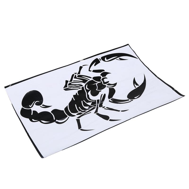 Car-Dekoration-3D-Scorpion-Decal-Sticker-Cooler-Vinyl-Sticker-S6P4 Indexbild 6