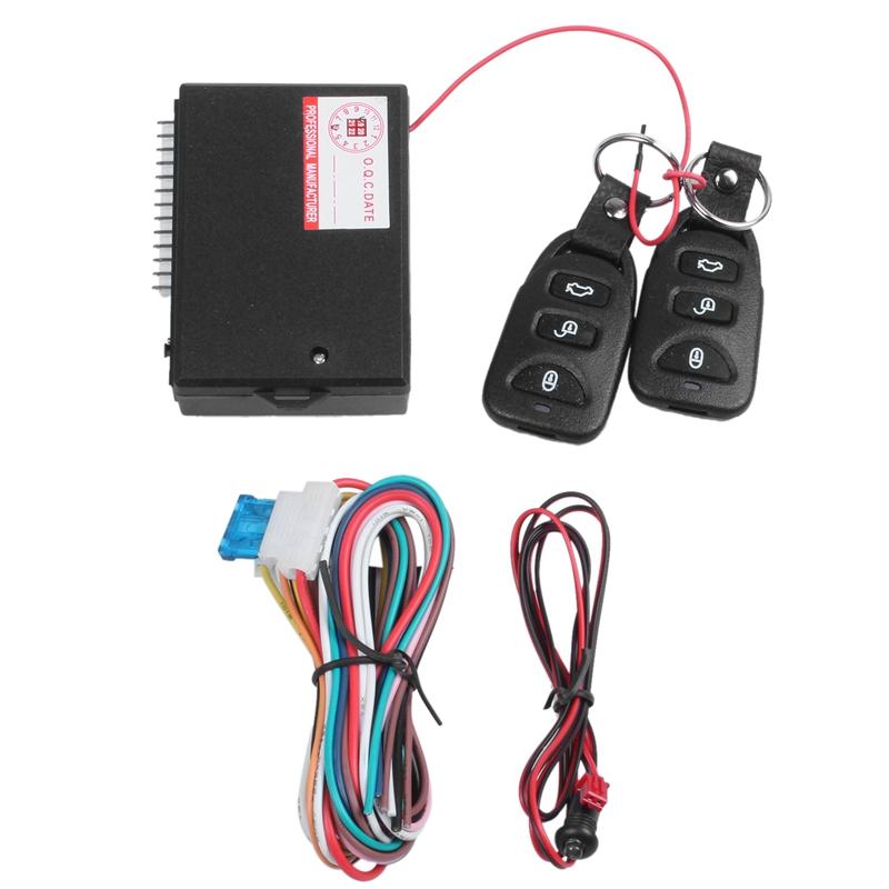 Car Alarm Systems Auto Remote Central Kit Door Lock Keyless Entry System W1Y5