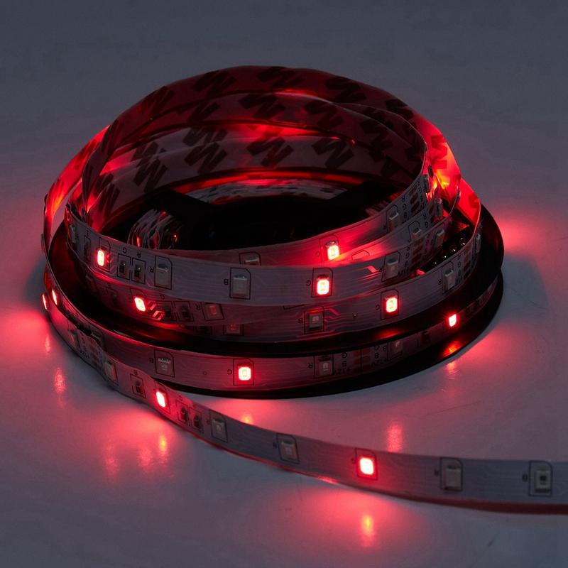 300Leds-3528-Smd-Rgb-Led-Light-Strip-44-Key-Ir-Remote-Controller-Non-Water-J1R6 Indexbild 6