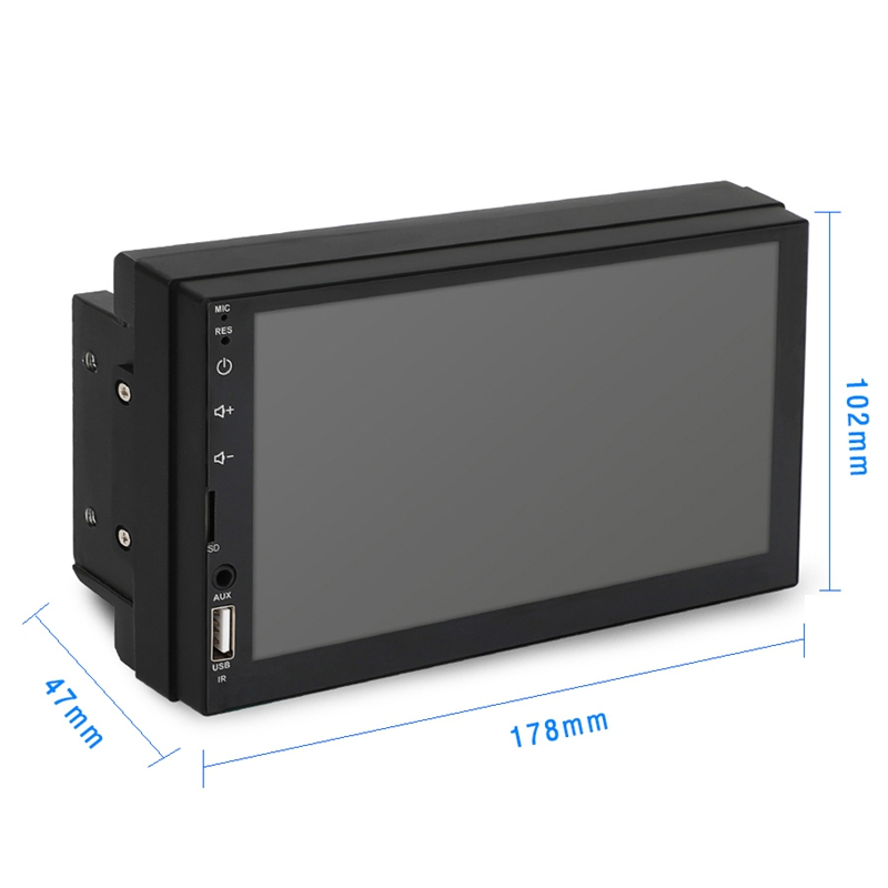 2-Din-7-Inch-Inch-Touchable-Screen-Car-Auto-Radio-Video-Stereo-Player-Bluet-T6D4 thumbnail 4