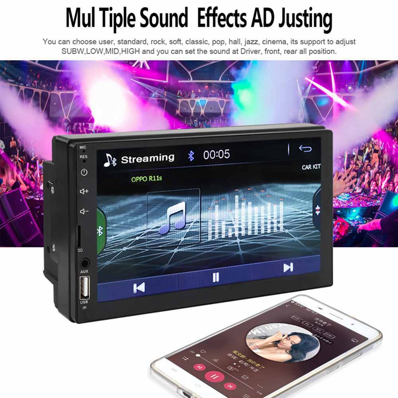 2-Din-7-Inch-Inch-Touchable-Screen-Car-Auto-Radio-Video-Stereo-Player-Bluet-T6D4 thumbnail 7