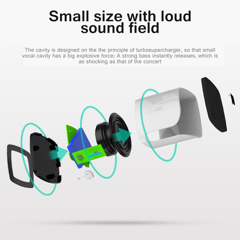Portable-Wireless-Bluetooth-Speaker-Multifunction-Hands-Free-Call-Plug-In-Ca-v2h thumbnail 6