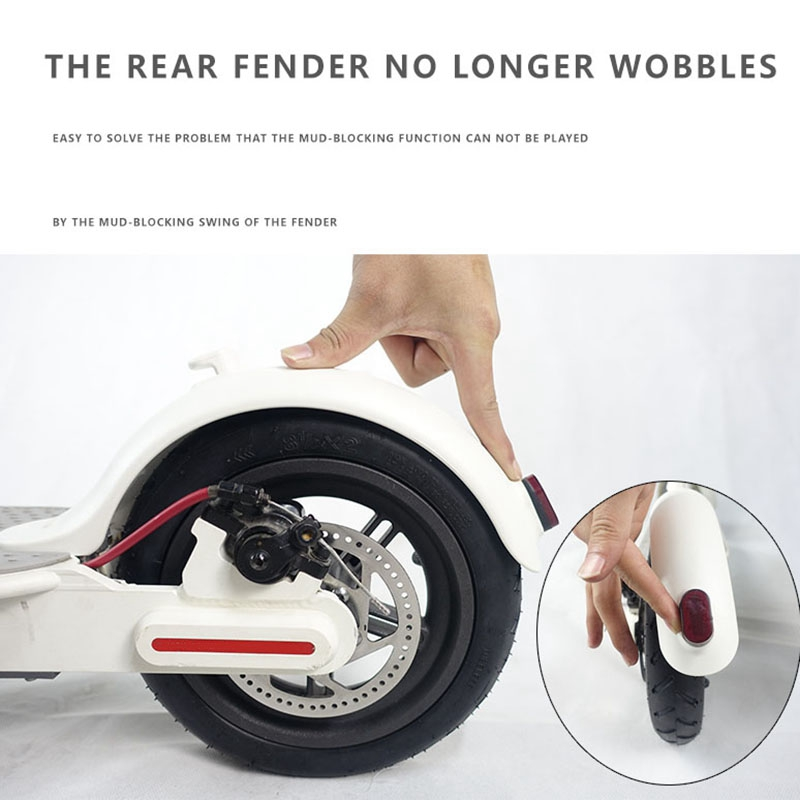 Rear-Mudguard-Bracket-Rigid-Support-for-Electric-Scooter-Xiaomi-Mijia-M365-Q1E5 thumbnail 15
