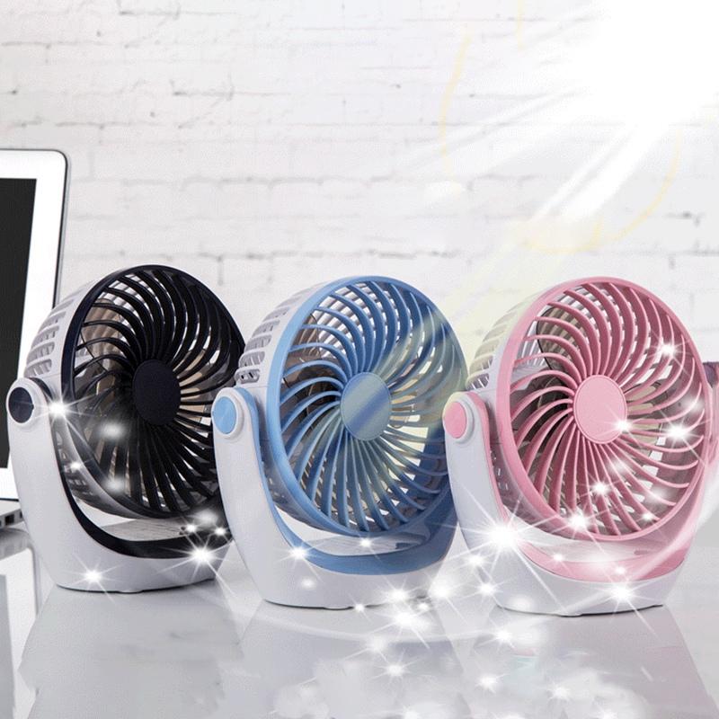 Ocube-Usb-Petit-Ventilateur-Mini-Rechargeable-Muet-Portable-Ventilateur-ELe-Q8W5 miniature 16