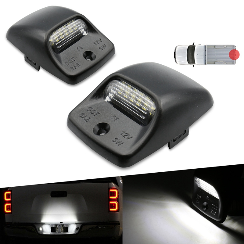 Ford Transit Mk7 LED SMD Number Plate Light Bright White Xenon Upgrade