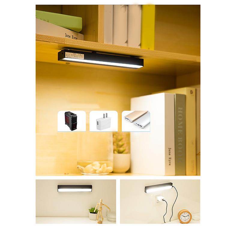 1X-Led-Badezimmerspiegel-Scheinwerfer-Punch-Free-Usb-Aufgeladen-Make-Up-SchL6I2 Indexbild 5