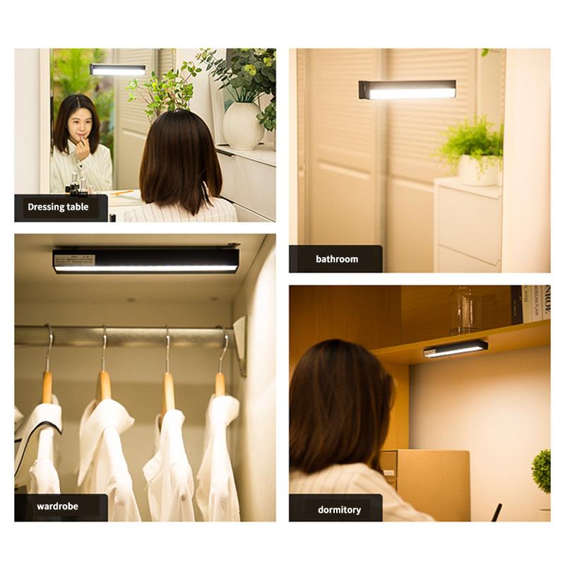 1X-Led-Badezimmerspiegel-Scheinwerfer-Punch-Free-Usb-Aufgeladen-Make-Up-SchL6I2 Indexbild 8