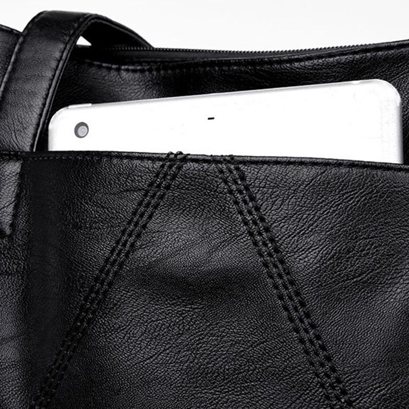 NaeHgarn-Handtaschen-Arbeiten-GrossE-KapazitaeTs-Bewegliche-Damen-Taschen-Schu-Q8X5 Indexbild 3
