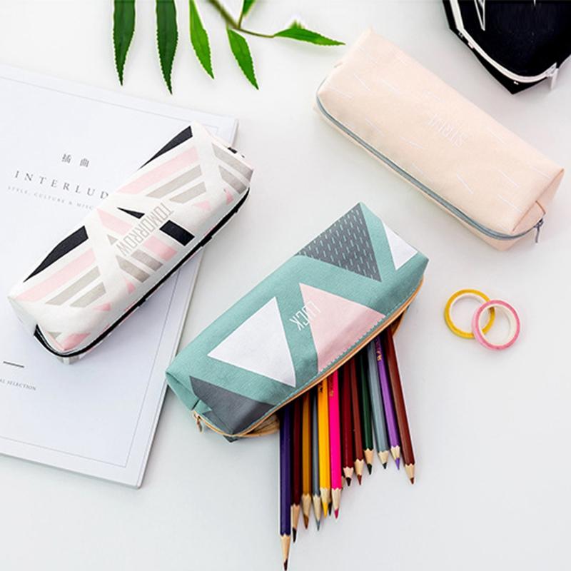 Cute-Pencil-Cases-Kawaii-School-Fabric-Pen-Bag-Box-Case-Pouch-Office-Statio-Z2F7 miniatuur 6