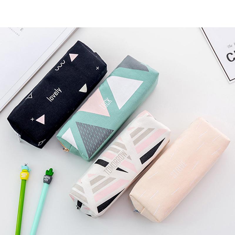Cute-Pencil-Cases-Kawaii-School-Fabric-Pen-Bag-Box-Case-Pouch-Office-Statio-Z2F7 miniatuur 9