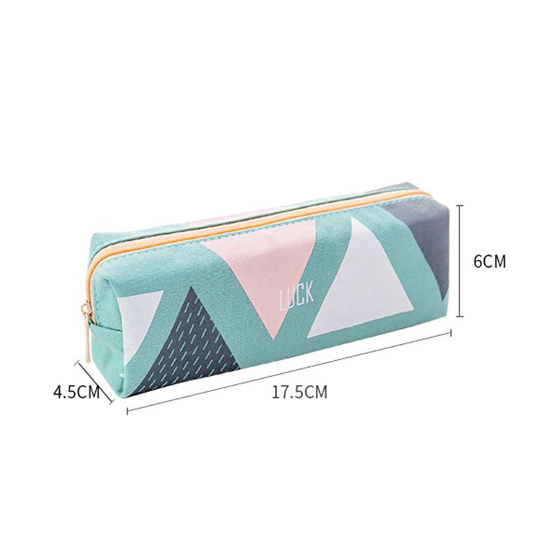 Cute-Pencil-Cases-Kawaii-School-Fabric-Pen-Bag-Box-Case-Pouch-Office-Statio-Z2F7 miniatuur 12