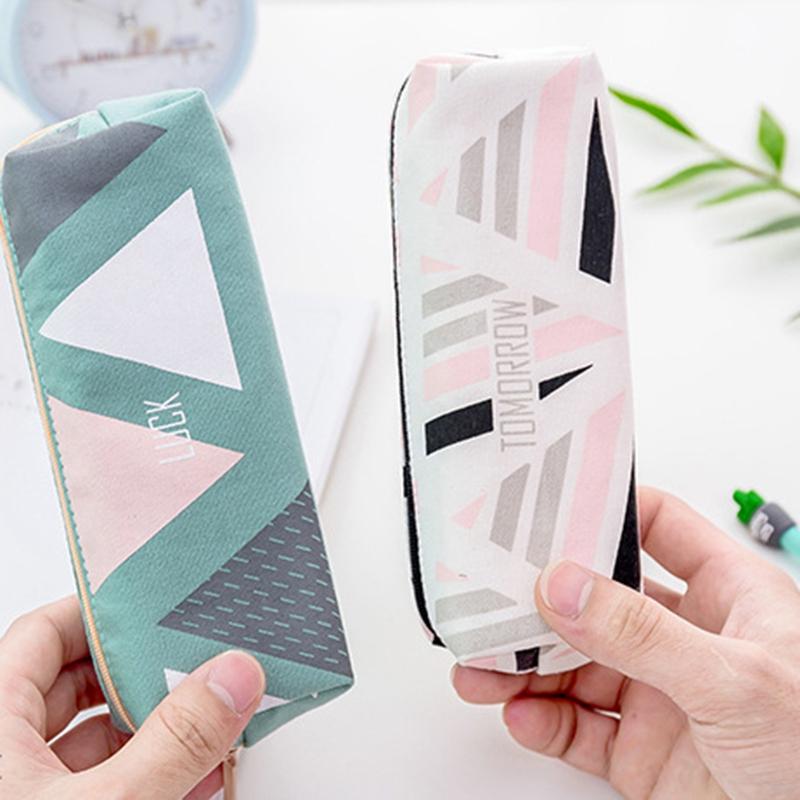 Cute-Pencil-Cases-Kawaii-School-Fabric-Pen-Bag-Box-Case-Pouch-Office-Statio-Z2F7 miniatuur 13