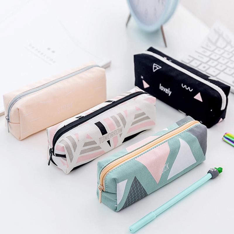 Cute-Pencil-Cases-Kawaii-School-Fabric-Pen-Bag-Box-Case-Pouch-Office-Statio-Z2F7 miniatuur 16