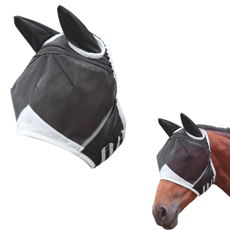 masque anti mouche cheval