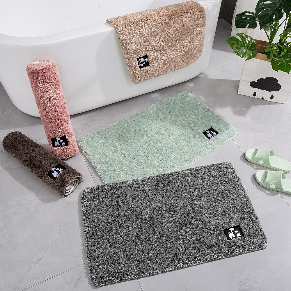 Baignoire Fibre De Pierre détails sur tapis de bain en fibre de coton super absorbant tapis tapis  tapis baignoire k4i2