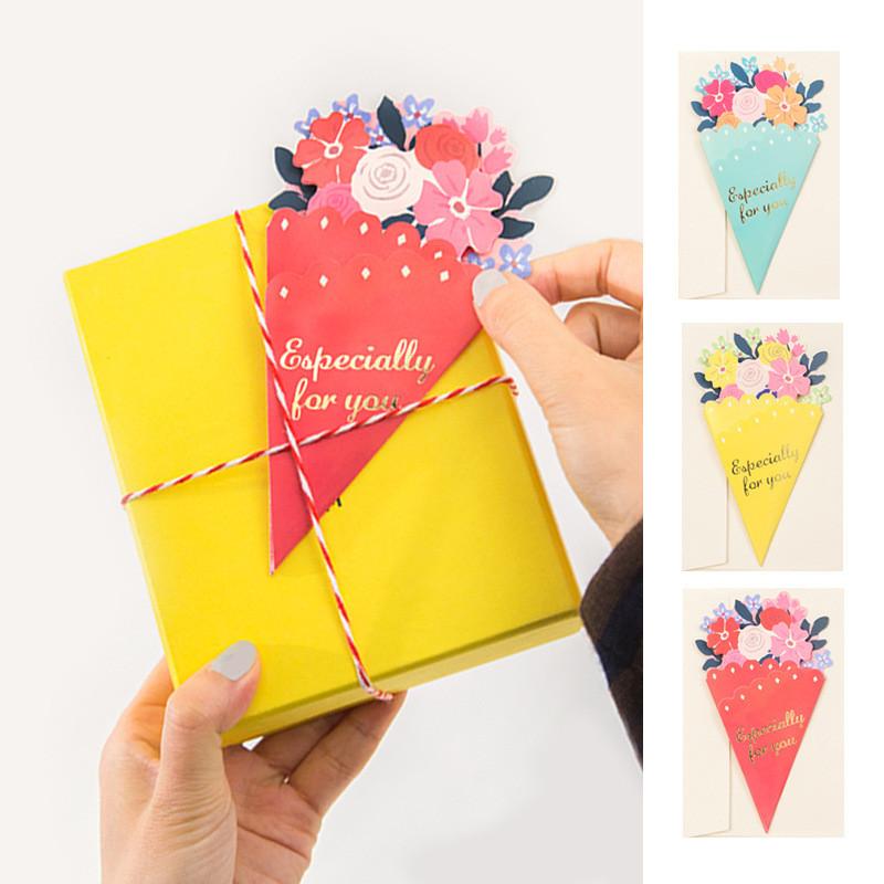 Tarjeta-de-FelicitacioN-de-Flores-de-20-Piezas-con-sobre-de-Mensaje-de-Felicitac miniatura 9