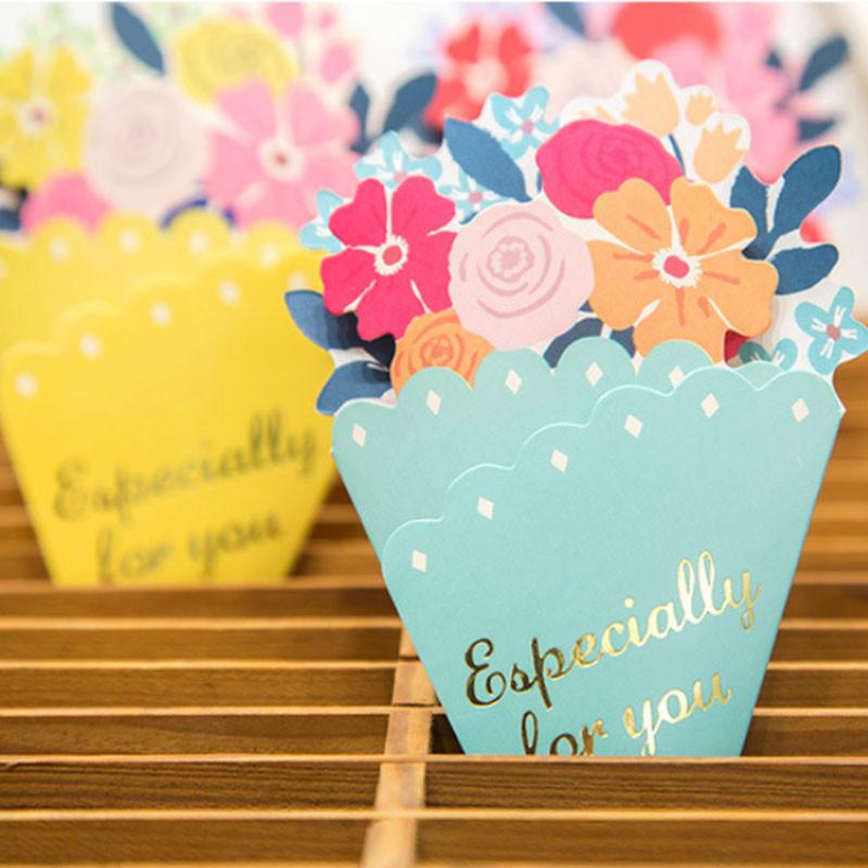 Tarjeta-de-FelicitacioN-de-Flores-de-20-Piezas-con-sobre-de-Mensaje-de-Felicitac miniatura 11