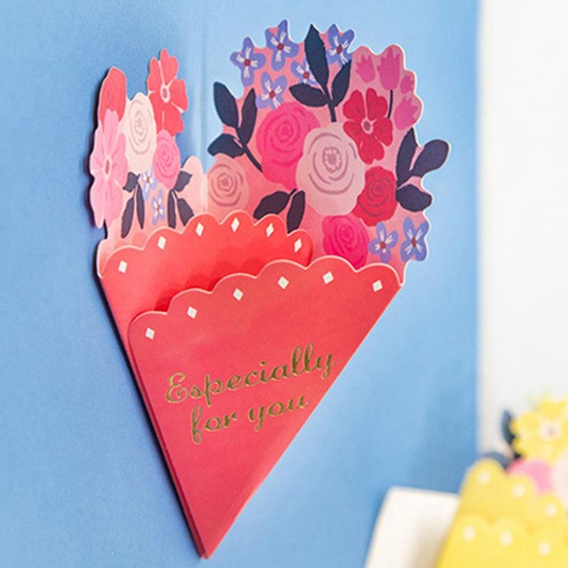 Tarjeta-de-FelicitacioN-de-Flores-de-20-Piezas-con-sobre-de-Mensaje-de-Felicitac miniatura 25