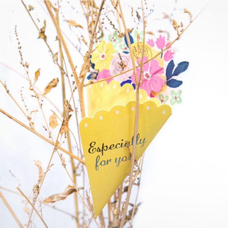 Tarjeta-de-FelicitacioN-de-Flores-de-20-Piezas-con-sobre-de-Mensaje-de-Felicitac miniatura 28