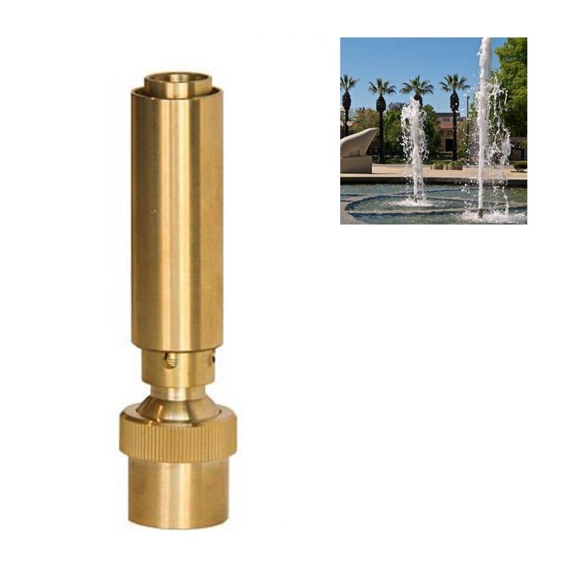 1-1-2-Inch-Dn40-Brass-Geyser-Water-Fountain-Nozzle-Spray-Pond-Sprinkler-f-V8N9 thumbnail 2