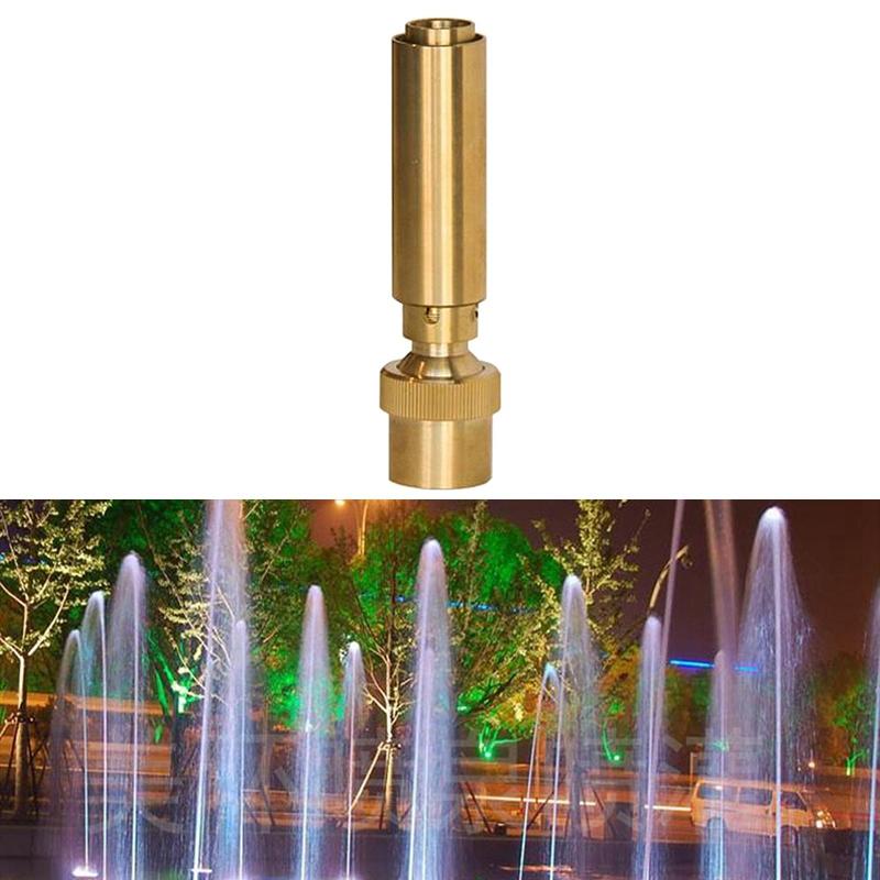 1-1-2-Inch-Dn40-Brass-Geyser-Water-Fountain-Nozzle-Spray-Pond-Sprinkler-f-V8N9 thumbnail 4