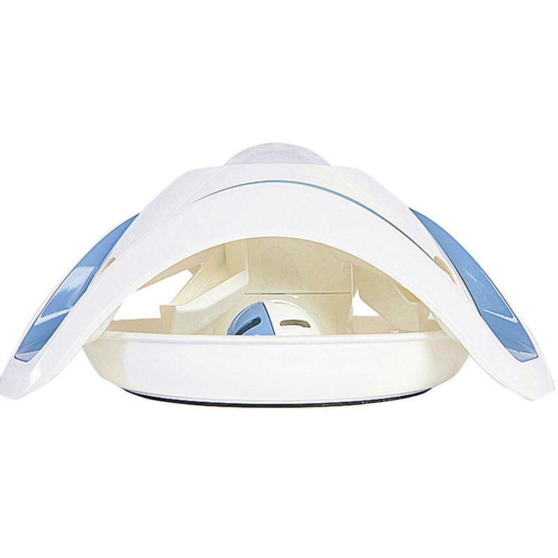 Blue-and-White-Pet-Puzzle-Cat-Toy-Food-Leak-Food-Dispenser-Feeder-Interacti-A5X4 thumbnail 4