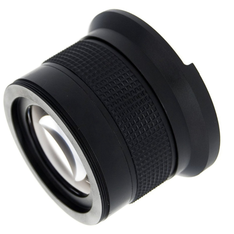 52Mm-0-35X-Extended-Fisheye-Wide-Angle-Automatic-Focus-Compatible-Macro-Len-P2G3 thumbnail 2