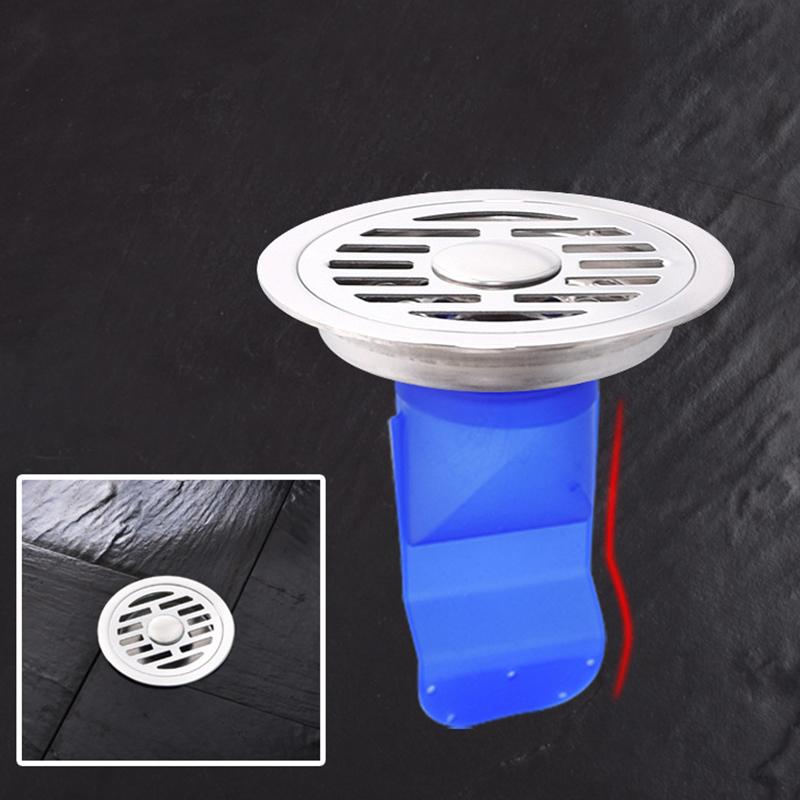 Silicone Kitchen Strainer Bathroom Pipe Sewer Drain Anti ...