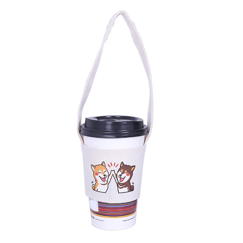 1X-SuessE-Handgemachte-Tasse-Set-Green-Drink-Handtasche-Canvas-Life-C2C8 Indexbild 10
