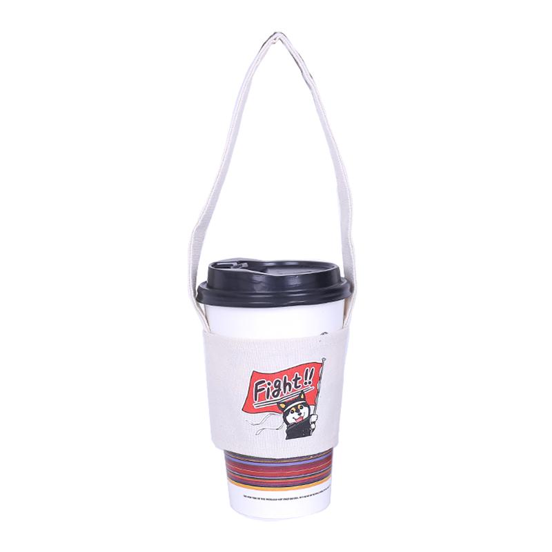 1X-SuessE-Handgemachte-Tasse-Set-Green-Drink-Handtasche-Canvas-Life-C2C8 Indexbild 11