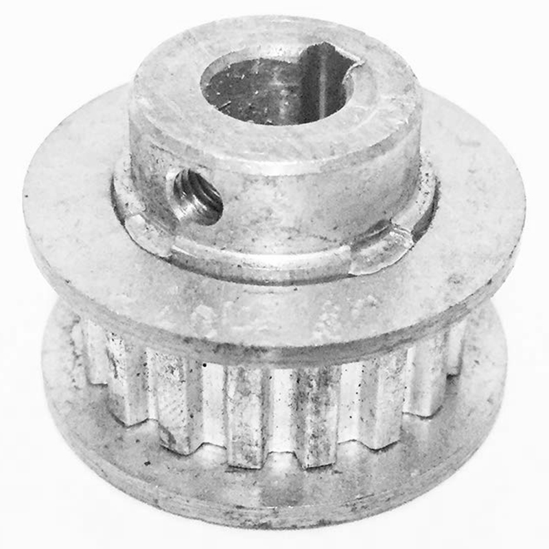 1X-2Pcs-Metal-Synchronous-Pulley-Gear-Motor-Belt-Gear-Drive-Wheel-Gear-S-N-C-B2 thumbnail 2