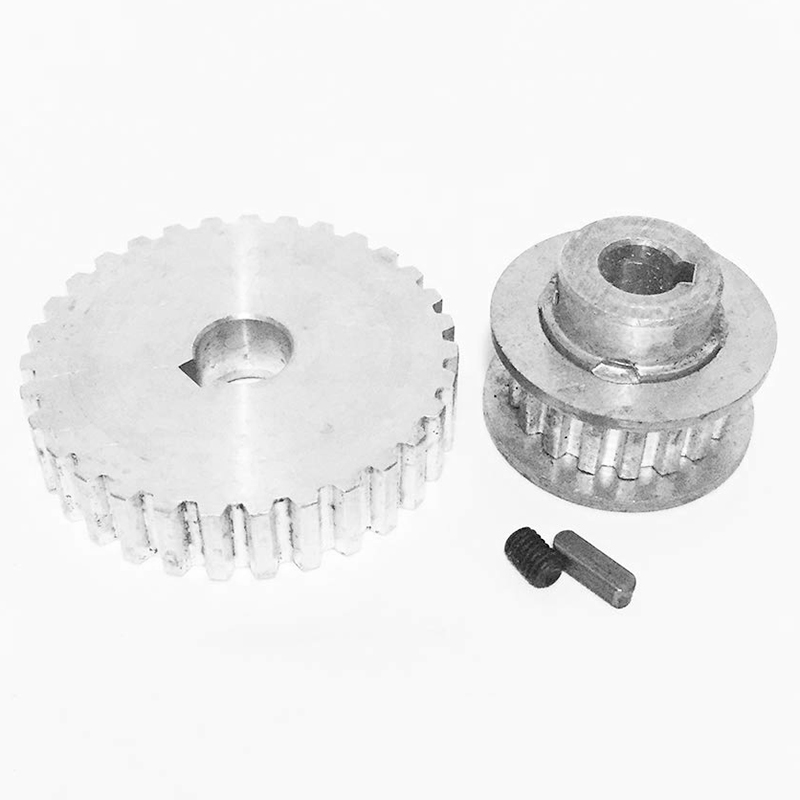 1X-2Pcs-Metal-Synchronous-Pulley-Gear-Motor-Belt-Gear-Drive-Wheel-Gear-S-N-C-B2 thumbnail 5