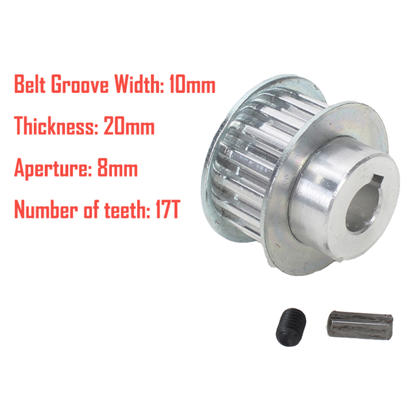 1X-2Pcs-Metal-Synchronous-Pulley-Gear-Motor-Belt-Gear-Drive-Wheel-Gear-S-N-C-B2 thumbnail 6