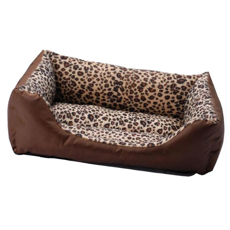 1X-Hundebett-Zwinger-Weiche-Warme-Sofa-Matten-Welpen-Katze-Haustiere-Haus-NK4Z9 Indexbild 7