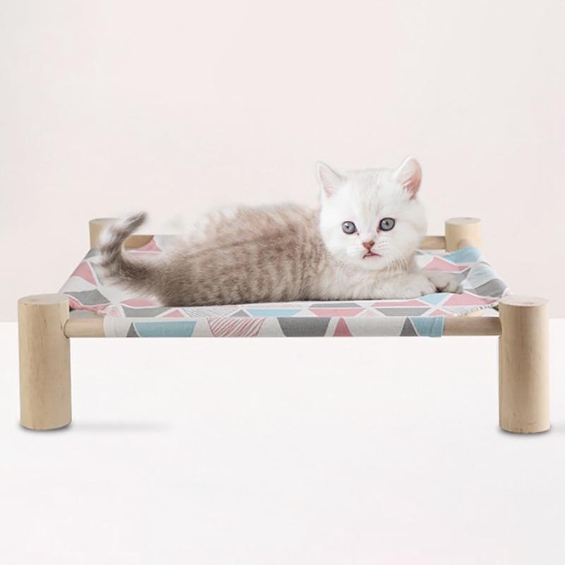 Summer-Cat-Hamac-Pet-House-Chien-Chiot-Coussin-Paresseux-Coussin-Chat-Pares-D6M1 miniature 5