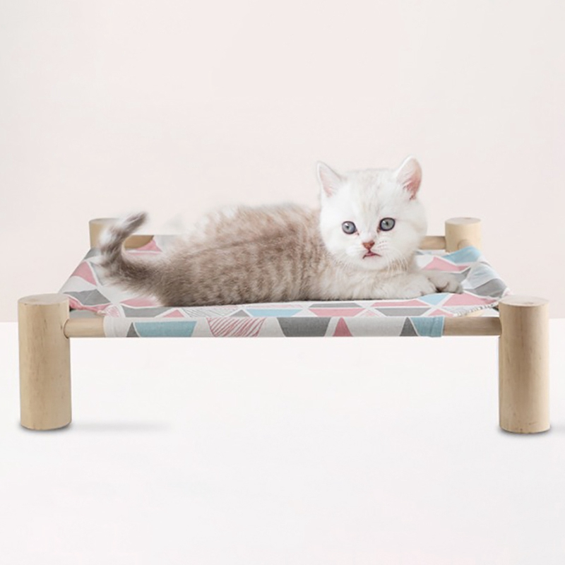 Summer-Cat-Hamac-Pet-House-Chien-Chiot-Coussin-Paresseux-Coussin-Chat-Pares-D6M1 miniature 11