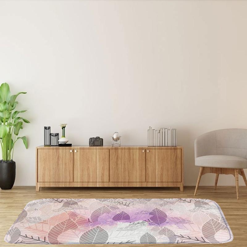 60X90Cm-Square-Carpet-Ground-Mats-Felt-Floor-Rug-Living-Room-Area-Mat-Q6D3 thumbnail 3