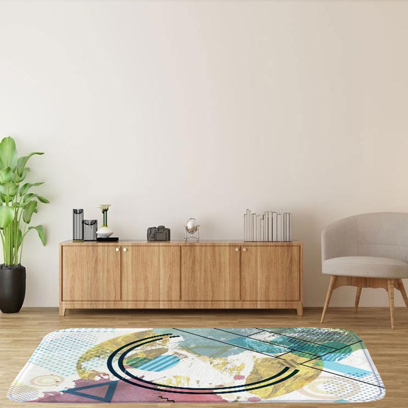 60X90Cm-Square-Carpet-Ground-Mats-Felt-Floor-Rug-Living-Room-Area-Mat-Q6D3 thumbnail 4
