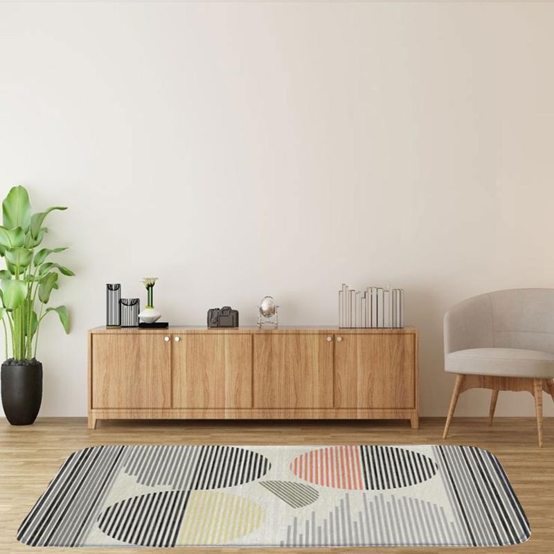 60X90Cm-Square-Carpet-Ground-Mats-Felt-Floor-Rug-Living-Room-Area-Mat-Q6D3 thumbnail 5