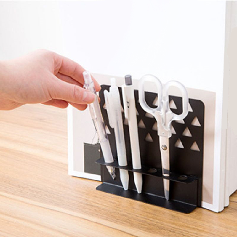 Nuevos-Sujetadores-de-Metal-Creativos-con-Soporte-para-BoliGrafo-Organizad-G9F2 miniatura 12