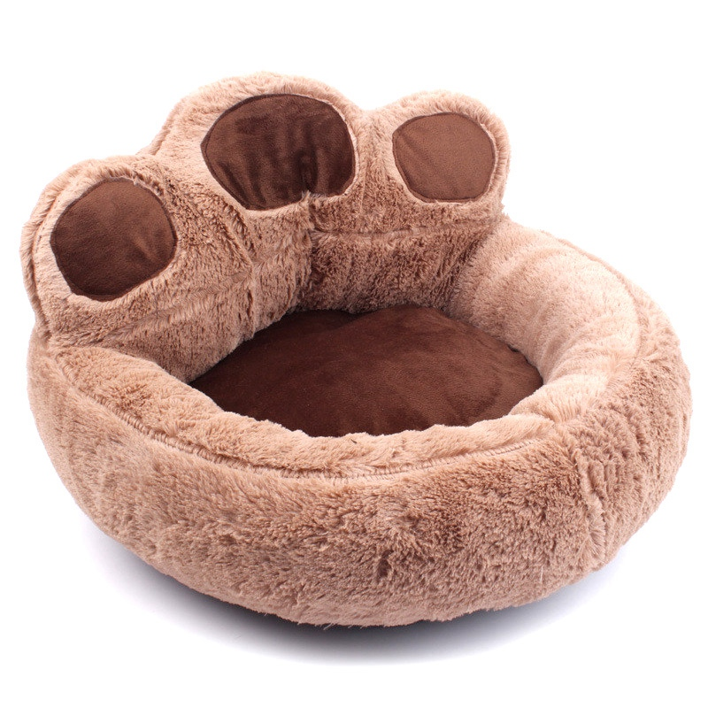 Bear-Fleece-Winter-Warm-Dog-Puppy-Soft-Pad-Bed-House-Nest-Washable-Small-Do-O9Q5 thumbnail 6