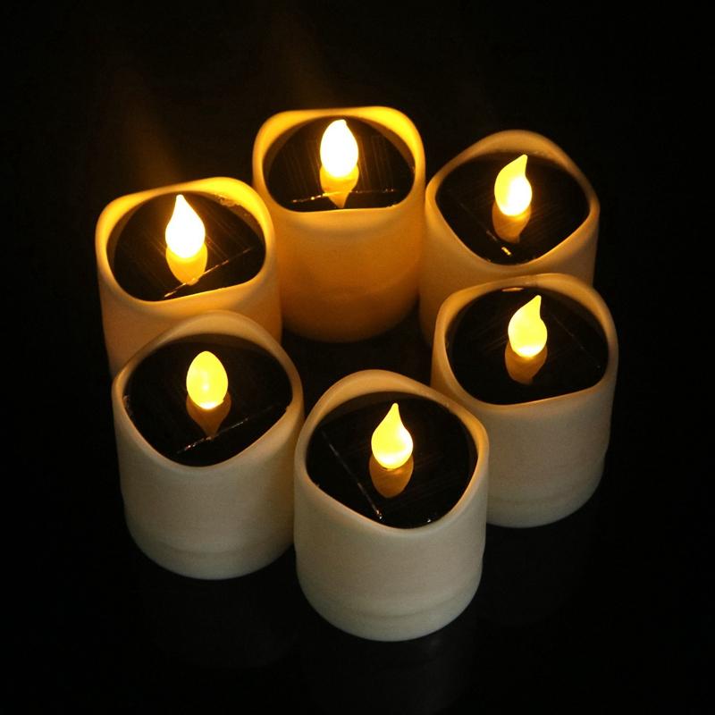 6-Pcs-ETanche-un-L-039-eNergie-Solaire-Scintillement-Led-Sans-Flamme-Bougie-Bou-Z5I1 miniature 5