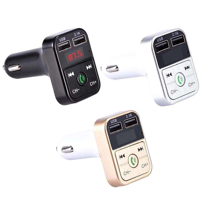 Quelima-B2-Car-Kit-Handsfree-Wireless-Bluetooth-Fm-Transmitter-Lcd-Mp3-F4Q1 miniatuur 9