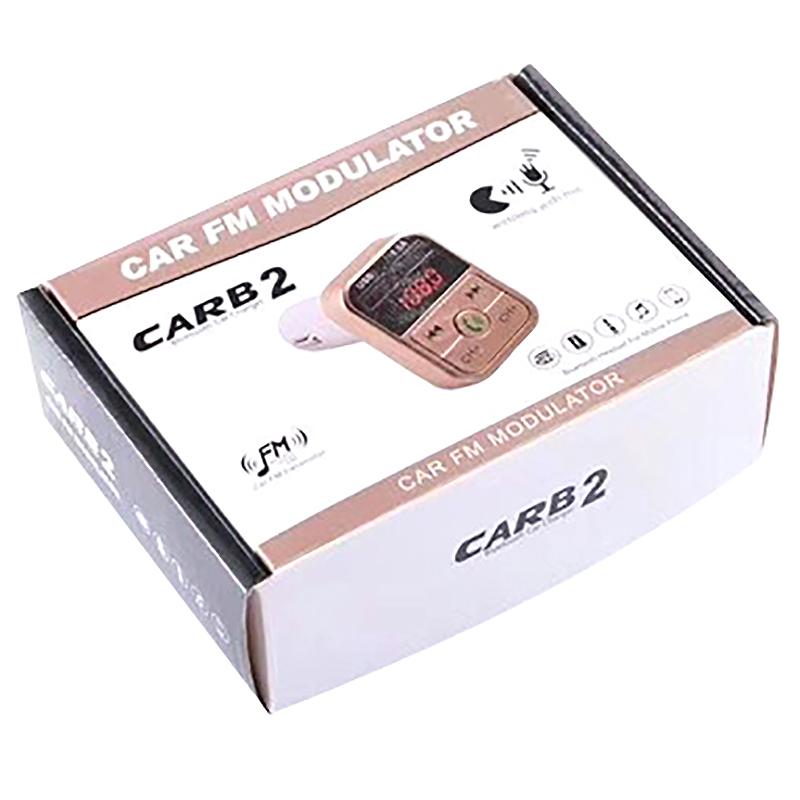 Quelima-B2-Car-Kit-Handsfree-Wireless-Bluetooth-Fm-Transmitter-Lcd-Mp3-F4Q1 miniatuur 10