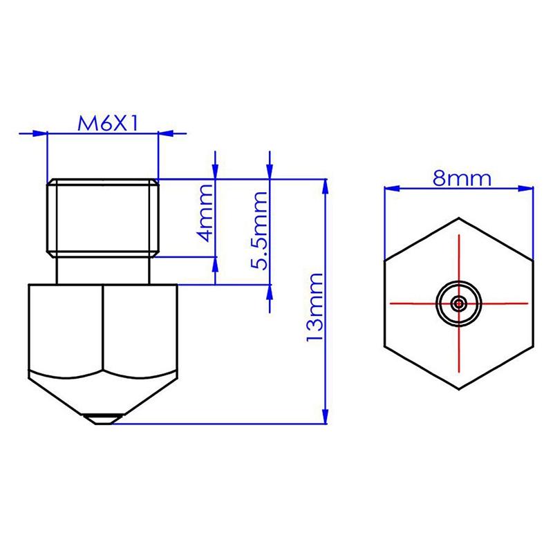 3D-Printer-Accessories-Mk8-Nozzle-0-4Mm-Compatible-with-Petg-Abs-Pei-Peek-a-Y3T2 thumbnail 8