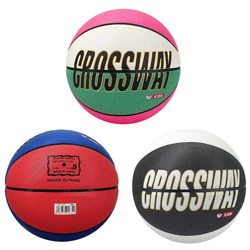 Crossway-Basketball-Ball-Lq-503-Pu-Material-Official-Size-5-Children-039-S-Bask-R5C4 thumbnail 7