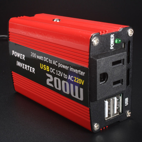 200W-Car-Power-Inverter-Dc-12V-To-Ac-220V-Converter-Dual-Usb-Charger-r-P9Y7 thumbnail 9