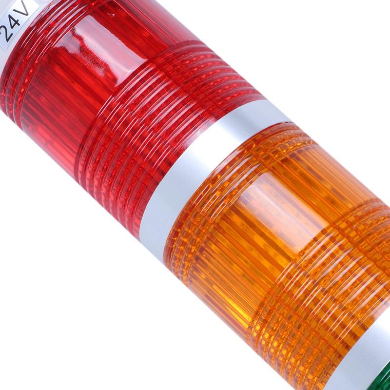 Lampada Segnale LED Giallo 230v AC//DC